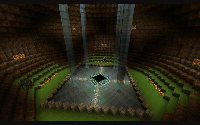 Ender Portal Room Amazing Minecraft Minecraft Garden
