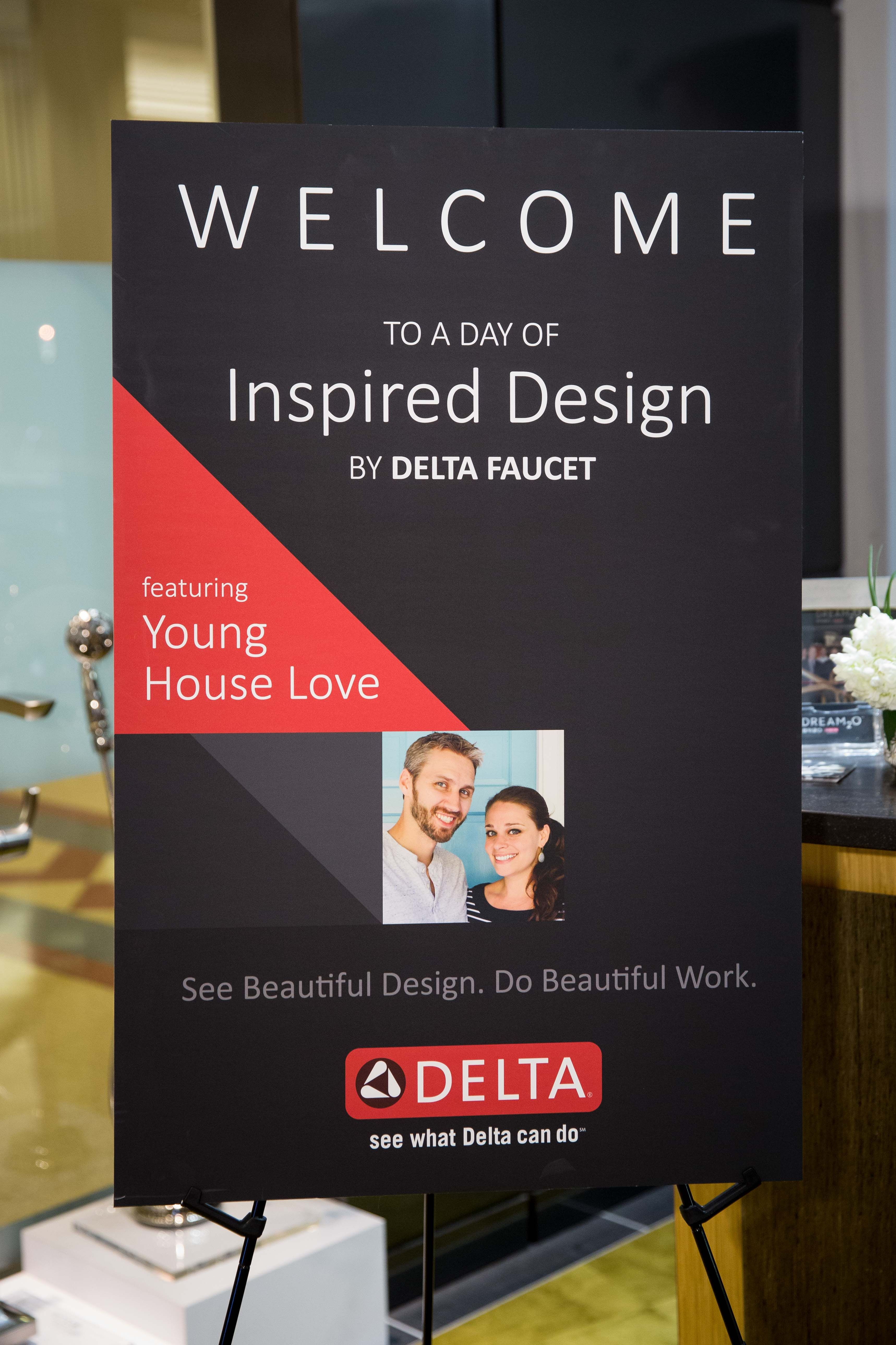 A DAY OF INSPIRED DESIGN with DELTA faucet - PLACE OF MY TASTE