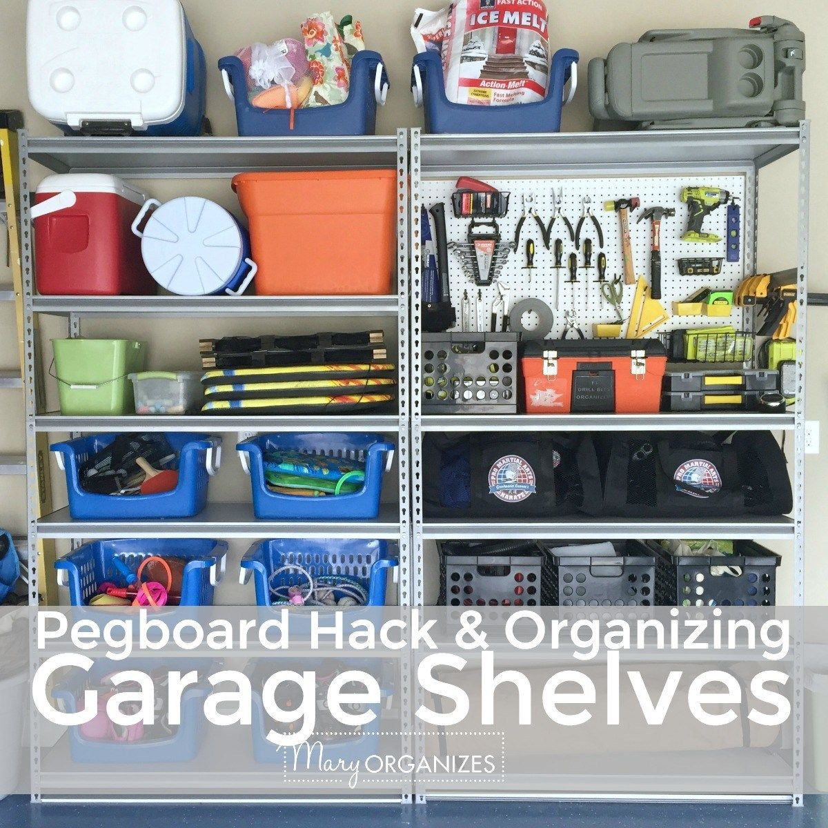 Garage Organizing: How To Hang Bikes, Scooters, Ripsticks, Balls & More
