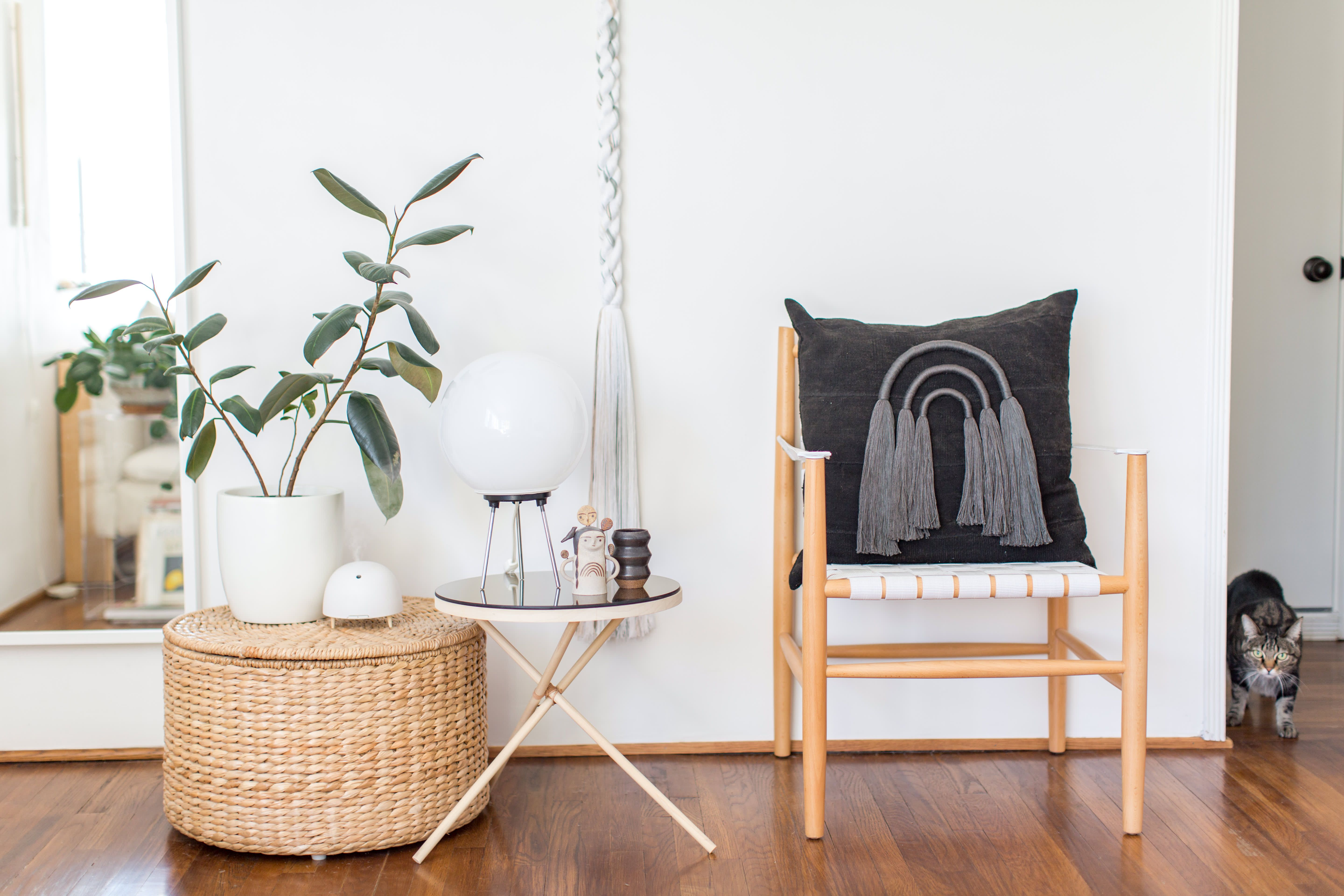 The Founder of WKNDLA Has a Minimal, Tailored Home Home