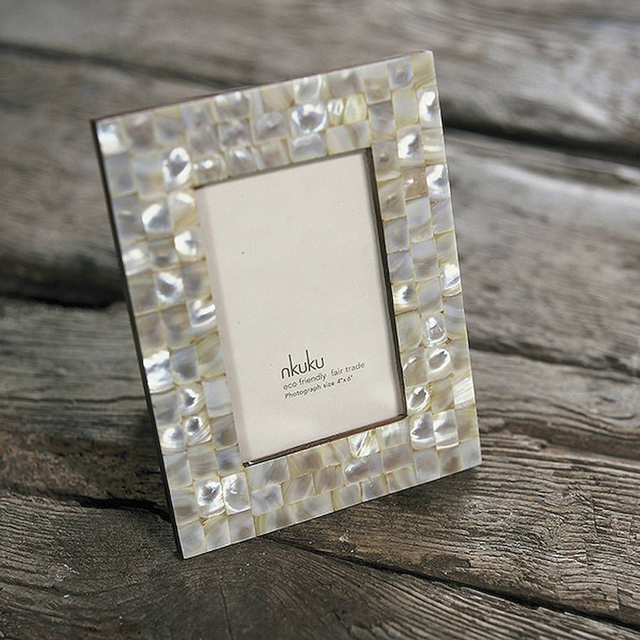 fair trade mother of pearl photo frame - Mother Of Pearl Picture Frame