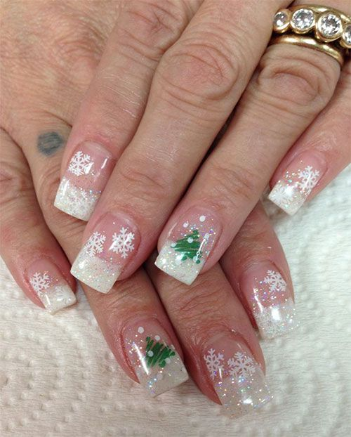 I Am Unfolding Before You Winter Gel Nail Art Designs, Ideas U0026 Stickers Of