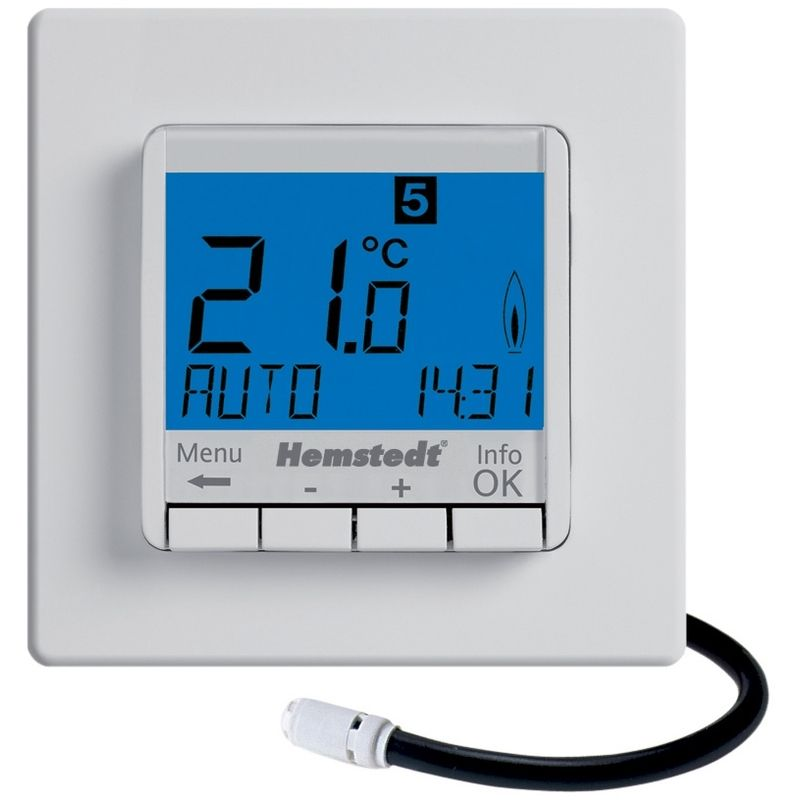 Thermostat E Control Pour Pre Finimetal Products In 2019 Digital Alarm Clock Alarm Clock Clock