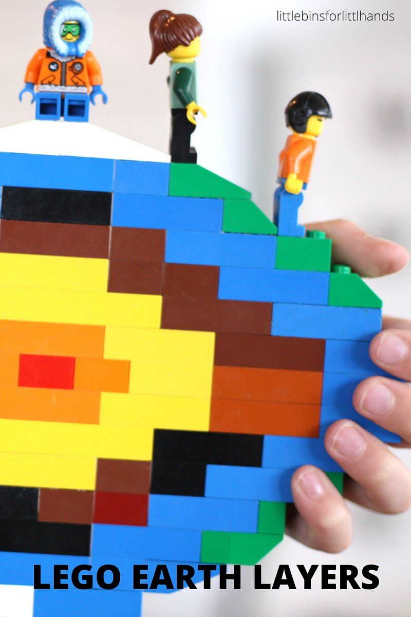 LEGO Earth Science Coloring Pages Day Activities