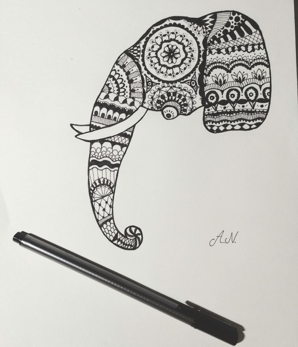 Black and white drawing for your inspiration :)