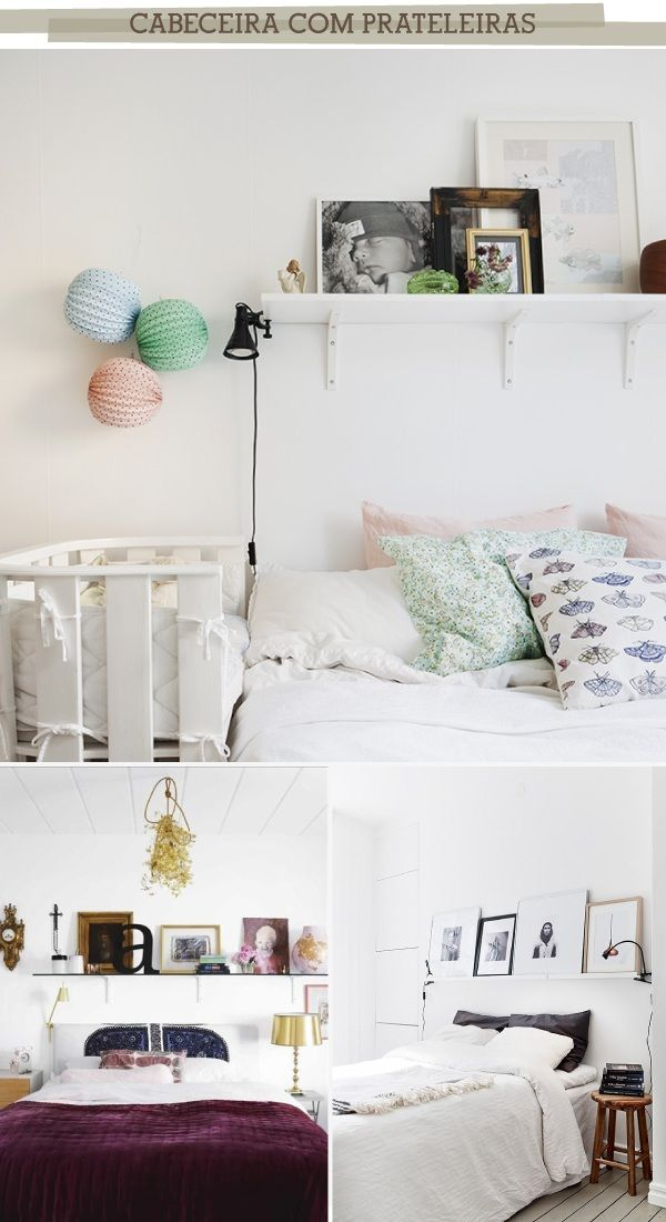 5 maneiras basiconas de fazer uma cabeceira pra sua cama box | For ...