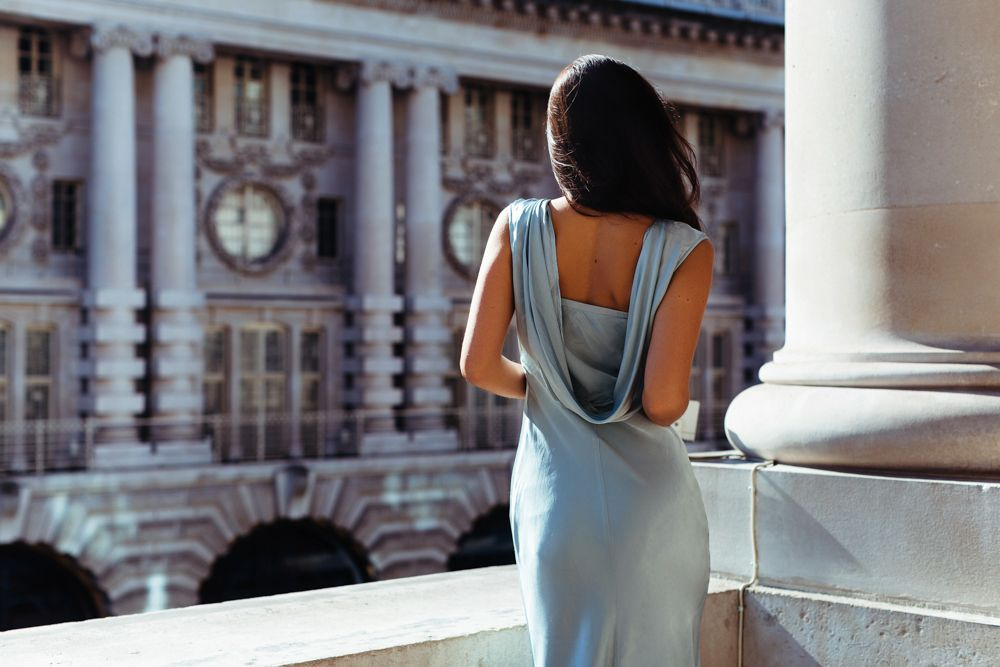 Spectre dress: Ghost on Lea Seydoux | Konzept, Textur und Kostüm