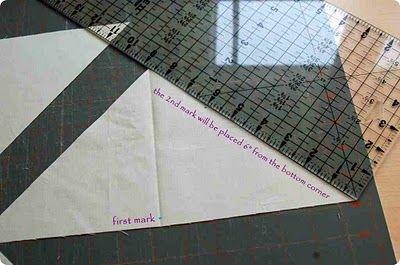 Spider Web quilt block - Tutorial
