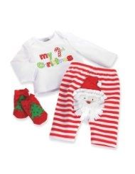 Adorable newborn and baby Christmas outfits.