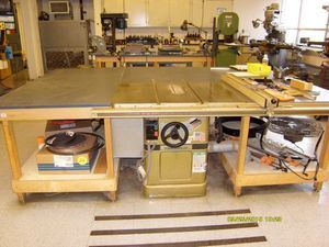 Used POWERMATIC 66 Woodworking Table Saws for sale #176256