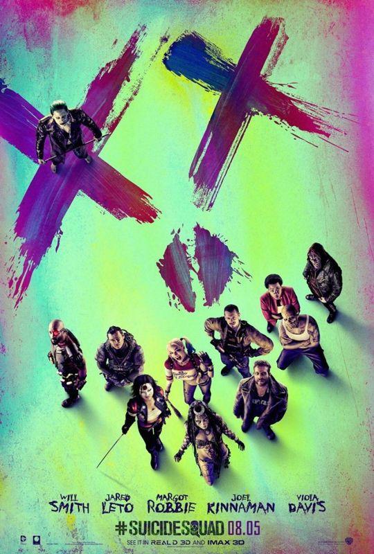 """Poster oficial de """"Suicide Squad"""" 2016"""