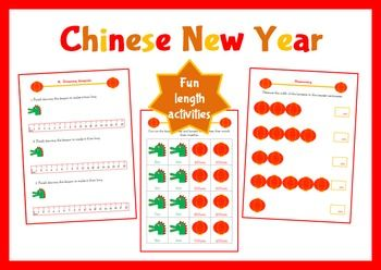 Chinese New Year With Images Chinese New Year Chinese New Year Activities Measurement Activities