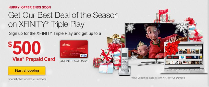 Triple Play Deal Tv,Internet & Phone | Comcast / Xfinity