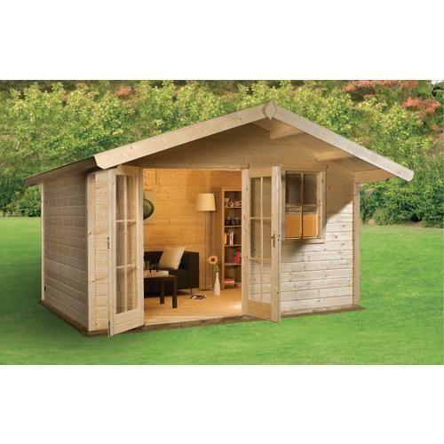 mokki 212 log cabin summerhouses log cabins garden. Black Bedroom Furniture Sets. Home Design Ideas