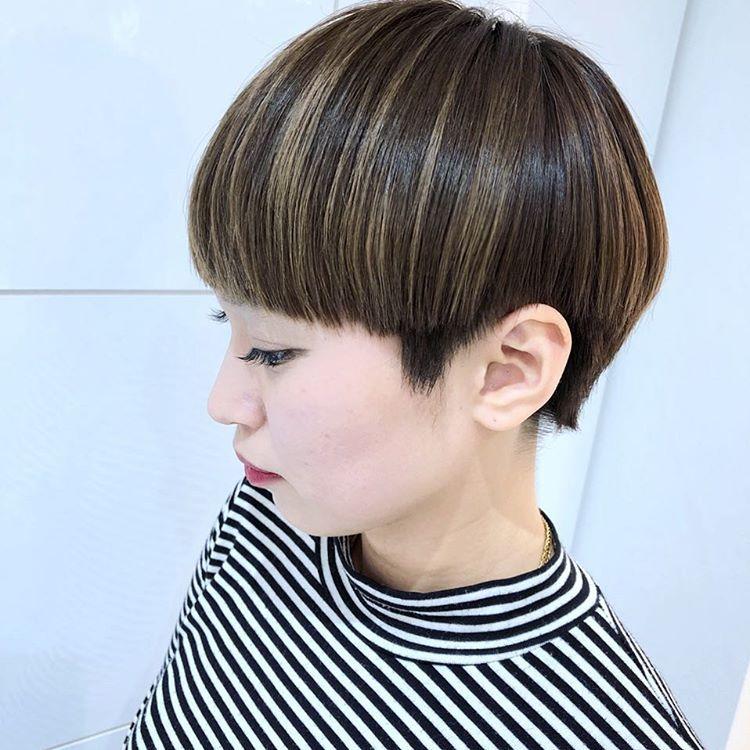 Ny Hirokoさんはinstagramを利用しています マッシュ 前髪から