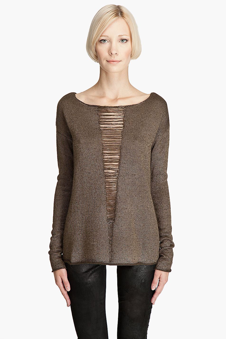 Elizabeth and James // Belinda Boatneck Pullover $147.50 | Sweater ...