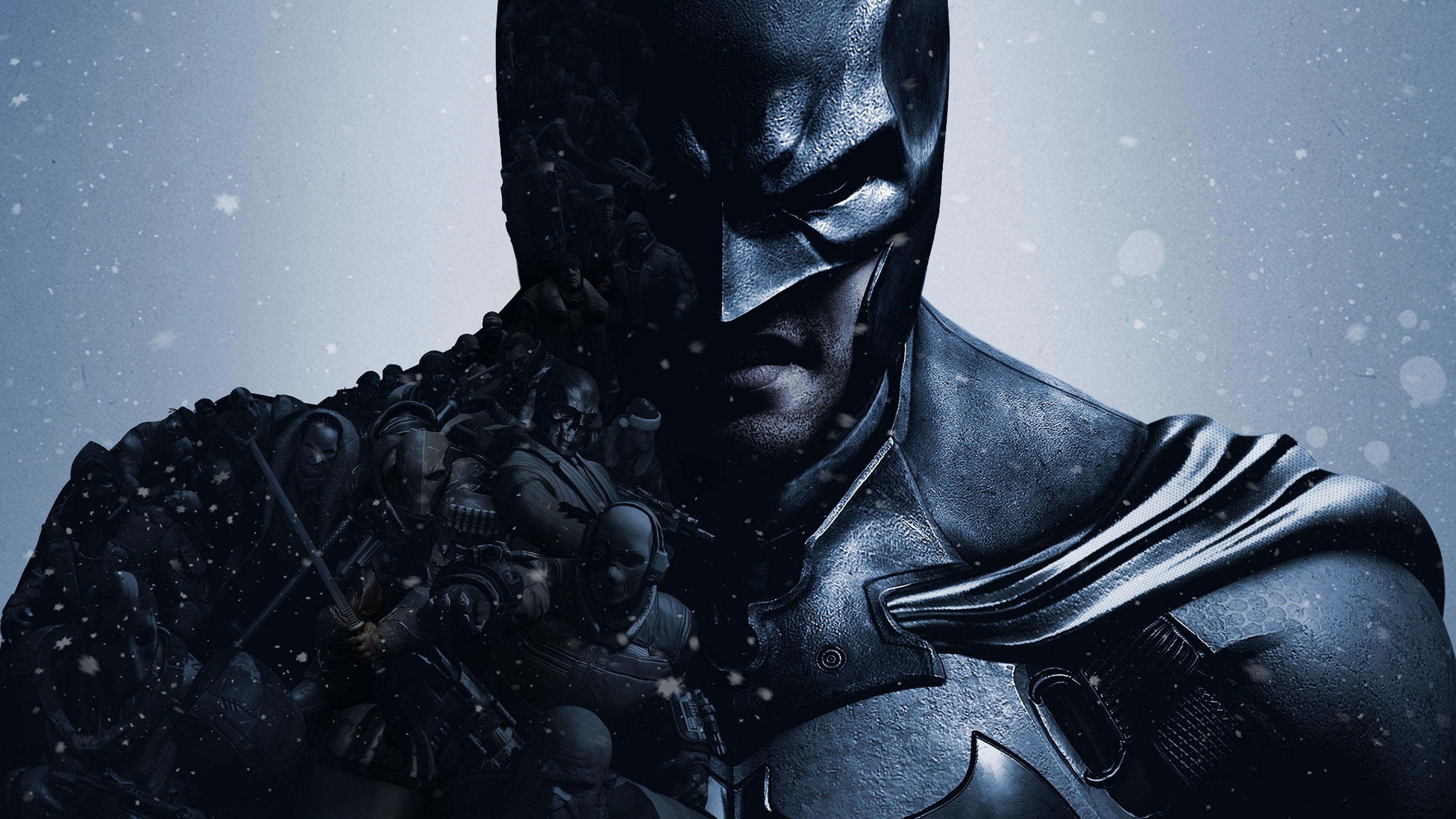 Batman 4k Wallpaper 3840x2400 4k 16 10 Ultra Hd Uhd Batman Arkham Origins Batman Wallpaper Batman