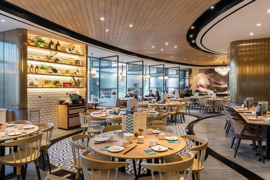 Fresh Look Of A Recently Opened Modern Chinese Restaurant Putien Modern Chinese Restaurant Chinese Restaurant Interior Design Restaurant Interior Design
