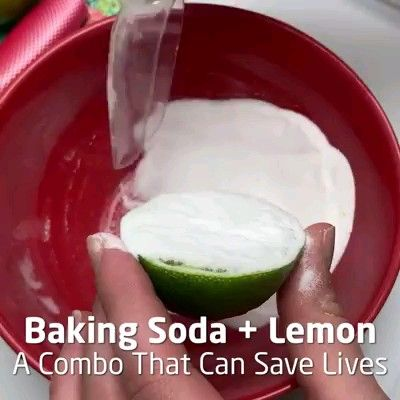 Baking Soda + Lemon
