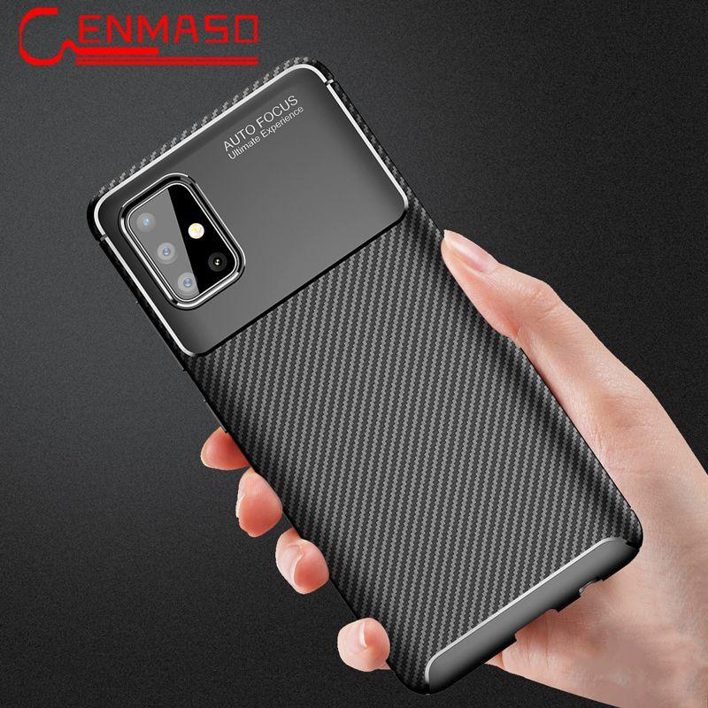 For Samsung A51 Case Carbon Fiber Tpu Soft Cover For Samsung Galaxy A51 A71 A91 A50 S10 Lite S20 Ultra Note 20 10 Plus Back Case In 2020 Samsung Samsung Galaxy Case