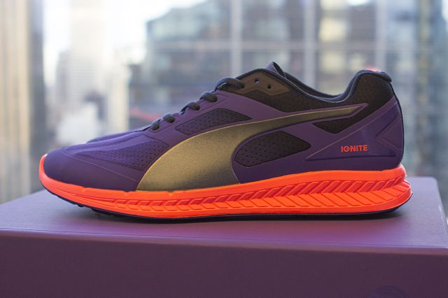 d19002db516 Puma flew media from across the world and into the heart of Manhattan to  debut their latest running innovation above the iconic Times Square.
