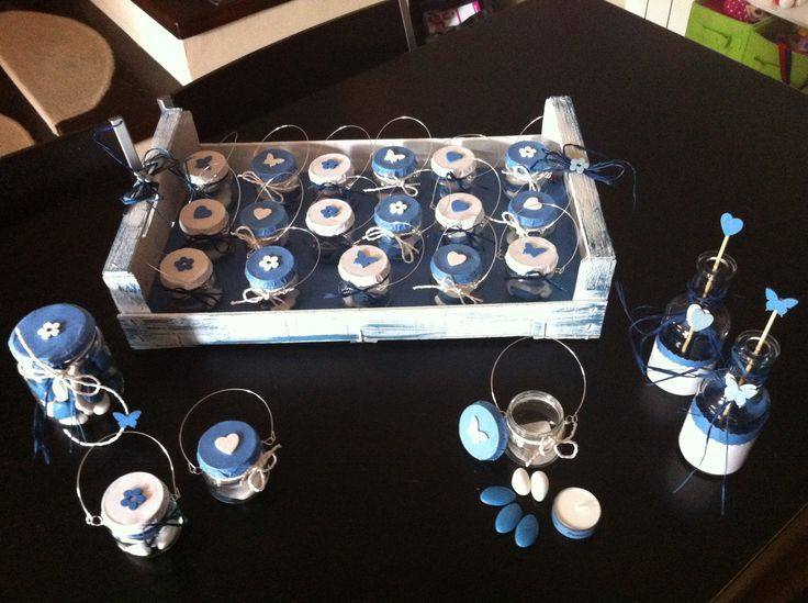 Famoso Risultati immagini per bomboniere battesimo vasetti omogenizzati  OG42