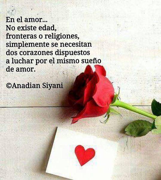 En El Amor No Existe Edad El Amor Existe Sueños De