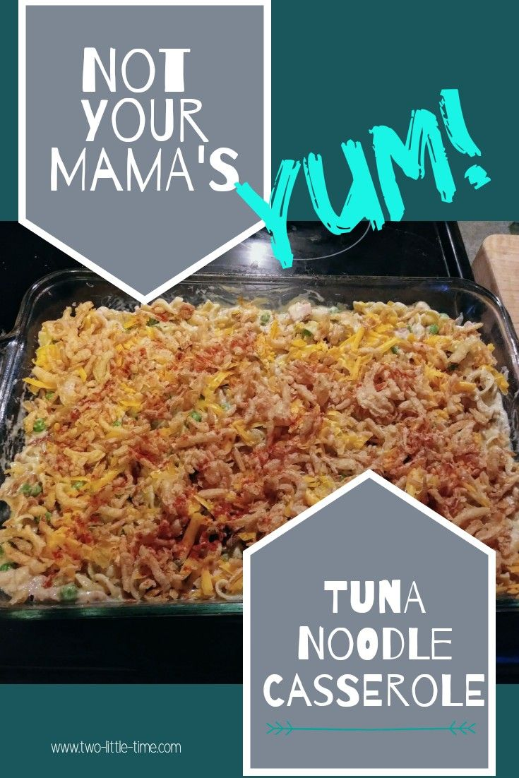 Not Your Mama's Tuna Noodle Casserole images