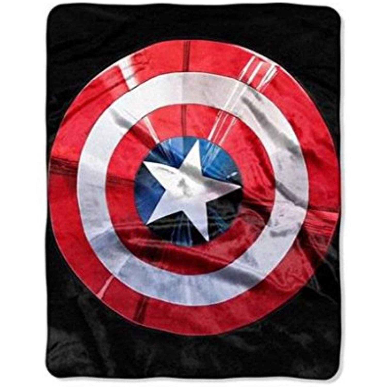 Marvel avengers captain america shield silky soft 40 x 50