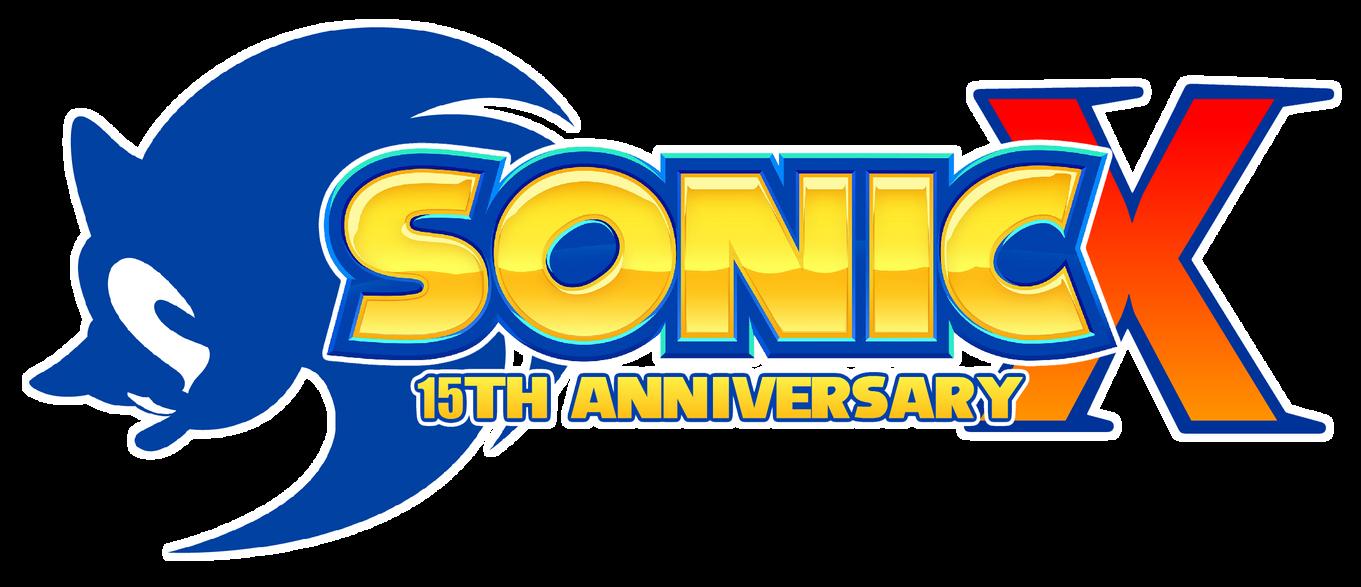 Sonic X 15th Anniversary Logo By Asylusgoji91 On Deviantart Anniversary Logo 15th Anniversary Logos