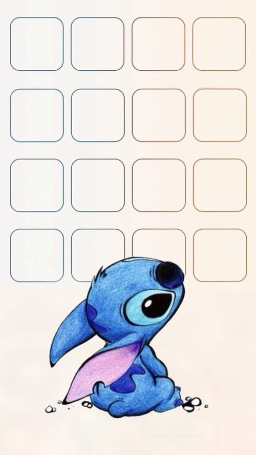 Immagine Di Wallpaper Stitch And Disney V Sfondi Per Iphone