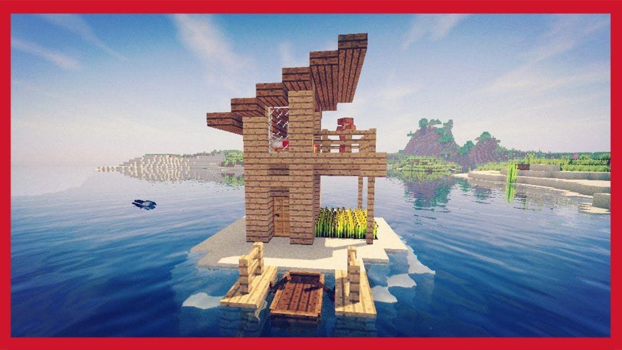 Minecraft Come Fare Una Piccola Casa Sul Mare Piccole