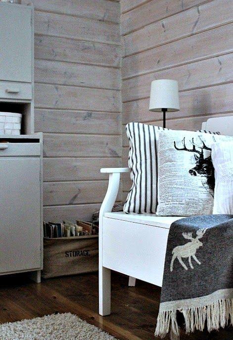 Pieni lintukoto: Talvisempia tekstiilejä tupaan