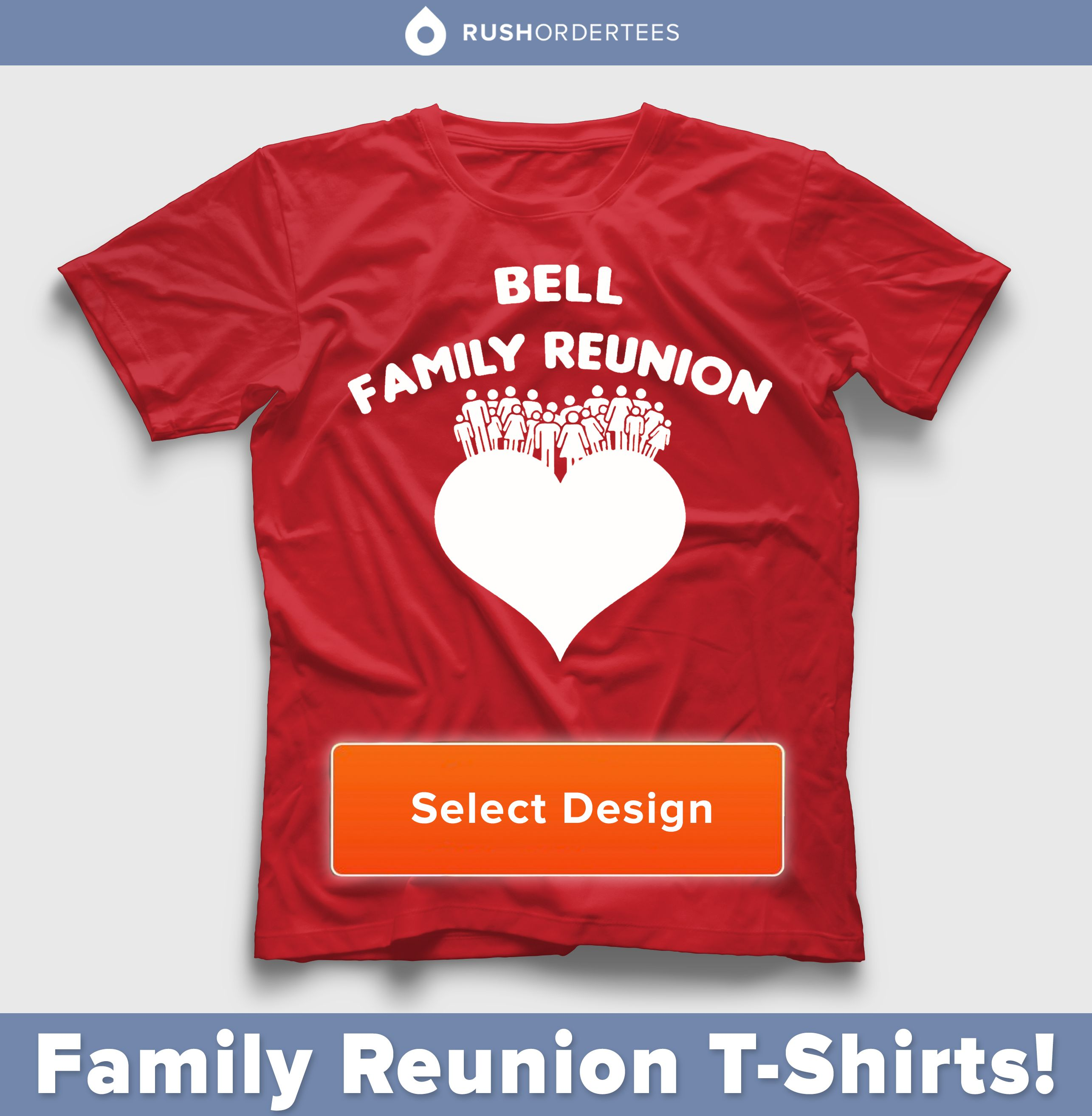 Superior Family Reunion Custom T Shirt Design Idea! We Have Plenty Of Templates To  Select From Our Website! Www.rushordertees.com