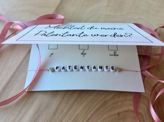Patent ante-Do you want to become my patent aunt? -Map + bracelet