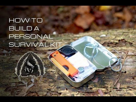 How to Build Personal Survival Kit http://rethinksurvival.com/build-personal-survival-kit-video/