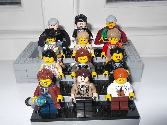 Lego Doctor Who, The 12 Doctors | via Flickr #12doctor