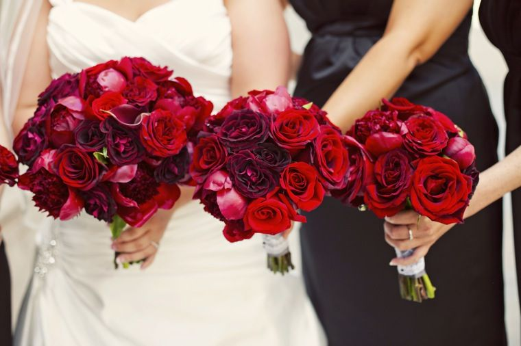 Red Ranunculus Wedding Bouquet Hand Tied Bouquets Made Of Red Charm Peonies Black Bacarra Roses Red Bouquet Wedding Red Bridal Bouquet Bridal Bouquet Pink