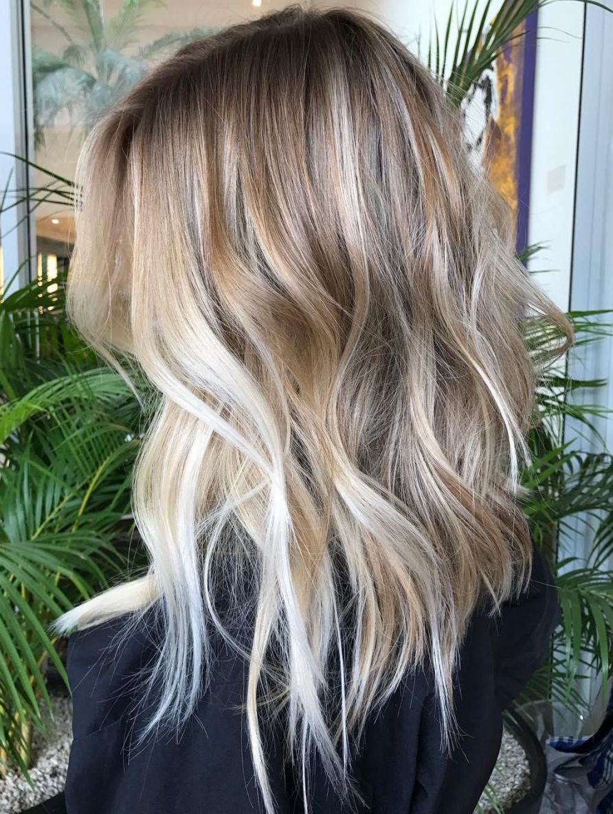 70 Flattering Balayage Hair Color Ideas For 2020 Frisuren Lange