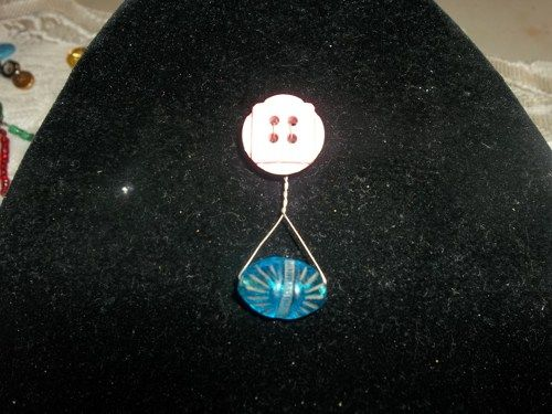 """Fly Away With Me"" brooch | HiddenHummingbirdDesigns - Jewelry on ArtFire"