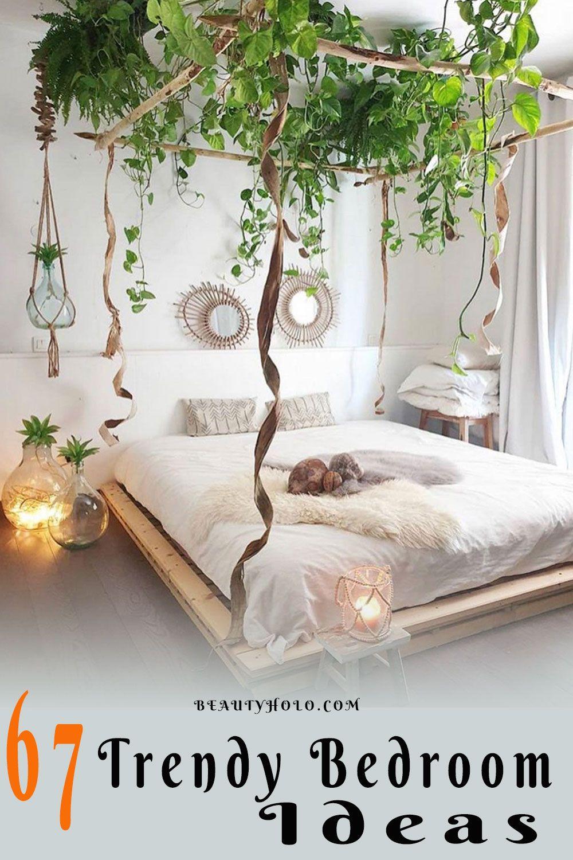 67 Trendy Bedroom Ideas