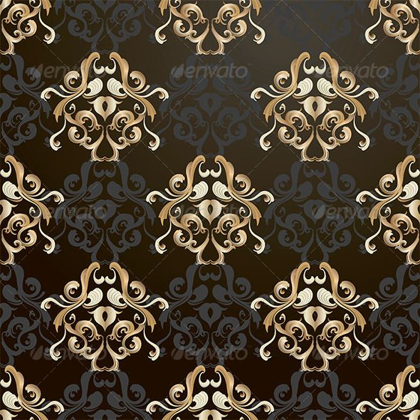 black and gold pattern gold pattern vector pattern and