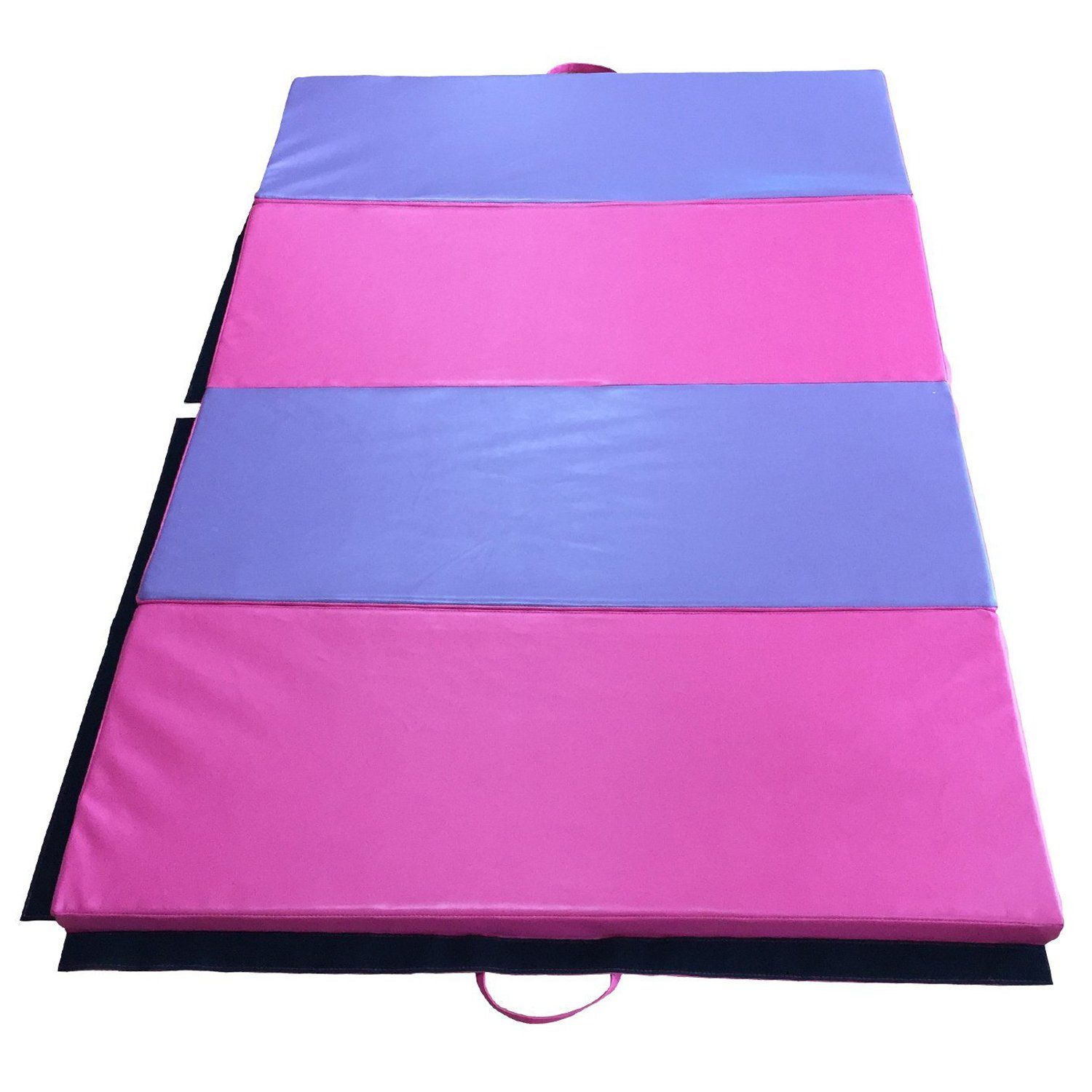 blue aerobics en stretching yoga gymnastics ip mats gym exercise mat diy folding