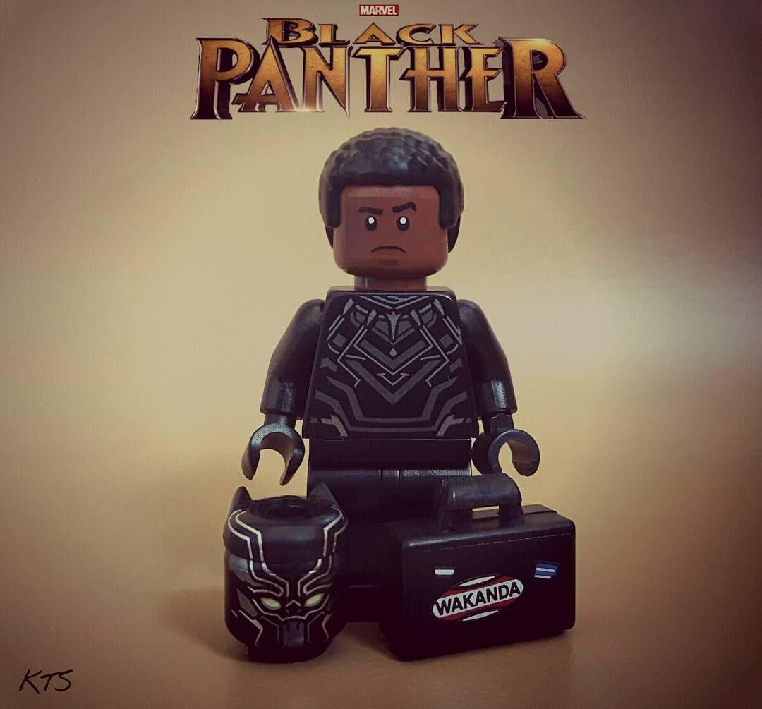 T'Challa King of Wakanda #Lego #Marvel Avengers - Captain