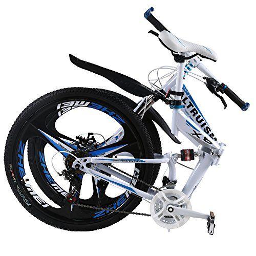 a03b9db0b68 ALTRUISM X6 Folding Bike Frame 26 Inch Aluminium Mountain Bicycle 21 Speed  Disc Brakes Bike Tall