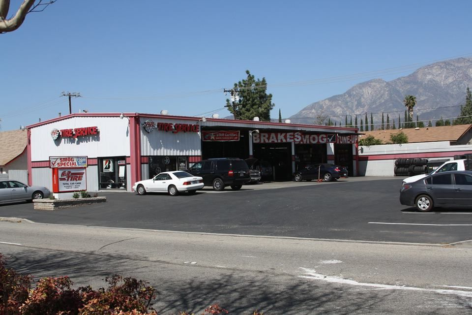 A  R Tire and Automotive Repair    9820 Foothill Blvd.  Rancho Cucamonga, CA 91730   United States   (909) 989-TIRE (8473)