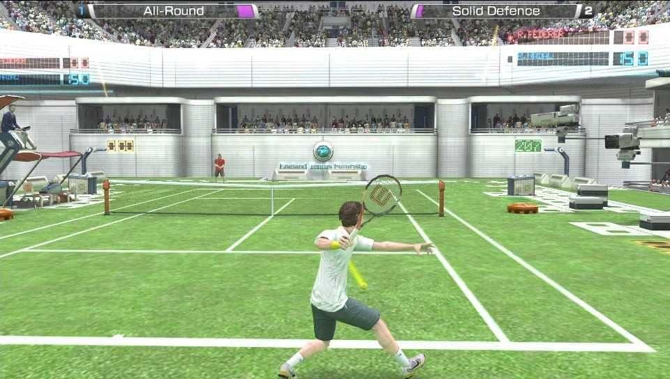 Virtua Tennis 4 World Tour Edition Reviews News Descriptions Walkthrough And System Requirements Game Database Tennis Games Tennis Games