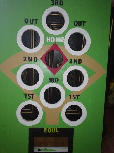 Beanbag Baseball Board
