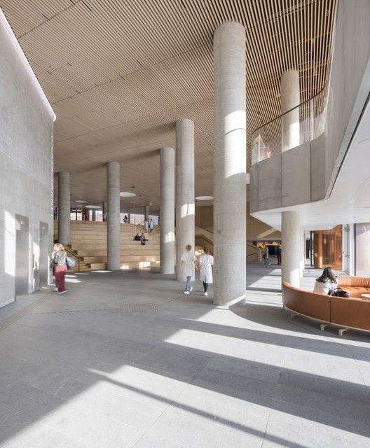 RIBA Announces 2018 RIBA International Prize Longlist for World's Best Building,Maersk Tower, extension of the Panum complex at the University of Copenhagen; Copenhagen, Denmark / CF Møller Architects © Adam Mørk