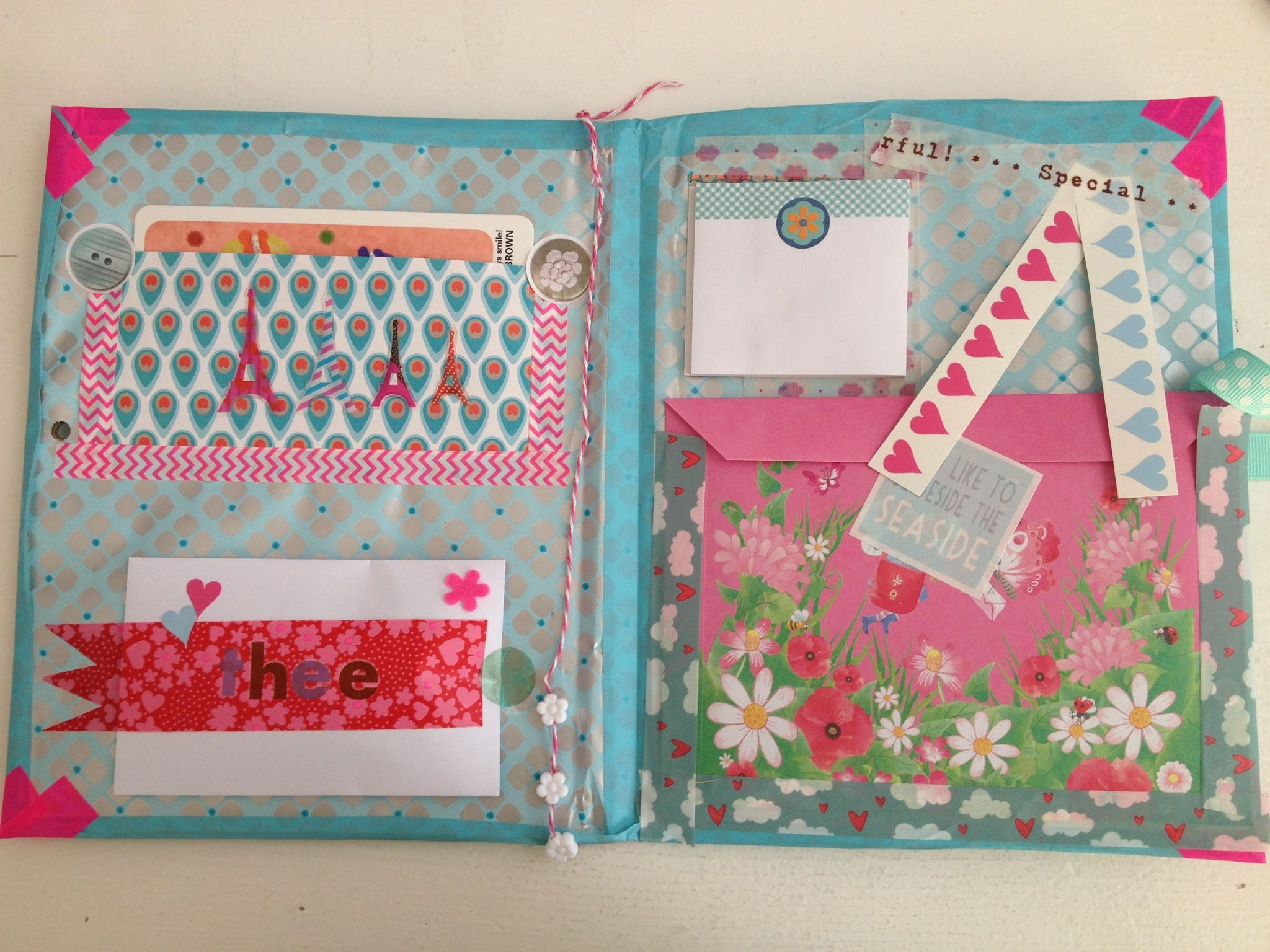 Snail mail folder for mail on the go!!! To make to make